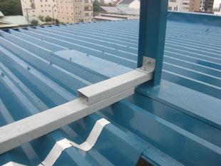 アルミ製階段継手工事:工事後