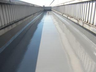 シート防水改修工事:工事後