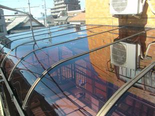 テラス屋根取替工事:工事後