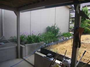 木造建物外部耐震補強:工事前