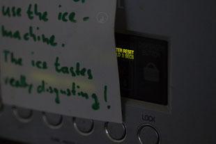 Das am Kühlschrank-Licht