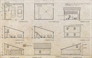 独立型ガレージハウス ラグジュアリー 建築家