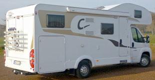 Wohnmobil Carado A 464 außen