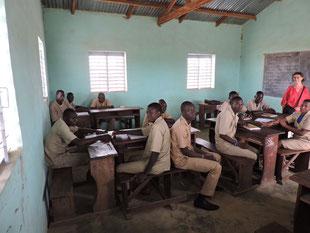 Classe du lycée de Gouandé