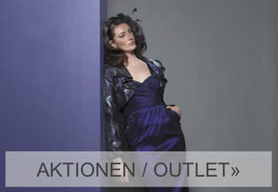 Abendkleid in purple