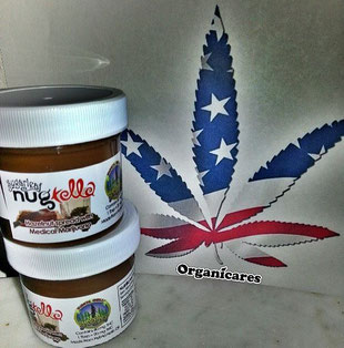 nugtella, le nutella a base de cannabis