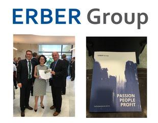 ERBER Group, Nachhaltigkeit, Nachhaltigkeitsbericht, Passion, People, Profit, Margarete Erber, Erich Erber