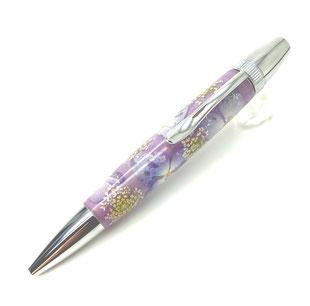 #エフスタイル #木材  #銘木  #希少樹種   #お花 #生花  #樹脂  #キレイ  #美しい  #ボールペン  #手づくり  #筆記具  #文具  #ギフト  #プレゼント #お祝い  #贈りもの  #オリジナル #万年筆  #入学祝い #就職祝い #新生活  #あじさい #紫色
