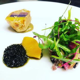 季節の野菜料理 体に優しいフランス料理
