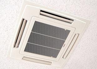 天井埋め込みタイプエアコン