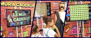 animation covid mur a cadeaux magasins centre commercial Tarbes Pau Auch dax toulouse bayonne