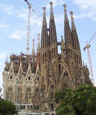 Sagrada Familia  von Antoni Gaudi © Creative Commons