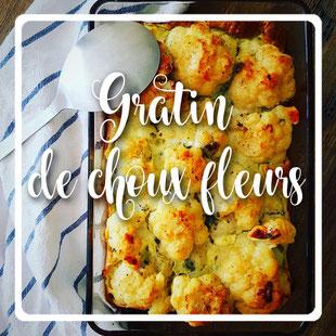 Gratin de choux fleurs sans lactose by kim - cuisinouverte.com