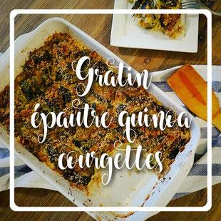 Gratin épautre quinoa courgettes by kim -cuisinuverte.com