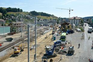 Umbau Bahnhof Huttwil