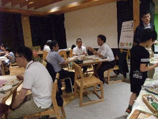 下川町・西興部村・札幌市の代表が親しく懇談