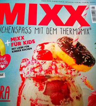 MIXX-Ausgabe mit meinem Rezept für Karamelleis