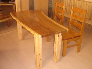 オーダー家具 テーブルセット