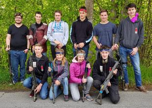 Finalistinnen und Finalisten des Feldschiessen-Finals Kategorie Jungschützen und JJ