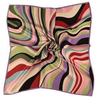 Seiden Halstuch VERTIGO one multicolor psychedelisch