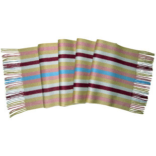 Kaschmirschal Candy Stripes multicolor