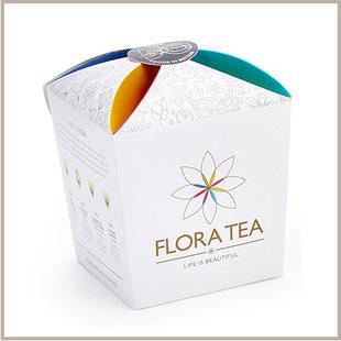 coffret assortiment 6 fleurs de thé