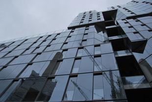 Sustainability and world architecture, London Circus West photo by Heidi Mergl Architect