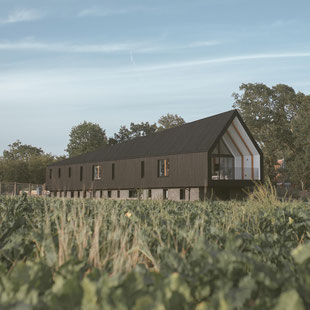 Black Barn, England, by Studio Bark