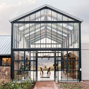 Conservatory House, South Africa, by Nadine Englebrecht