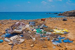 Plastik Müll Problem gesucht