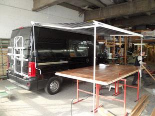 Umbau Citroen Bus zu Camper