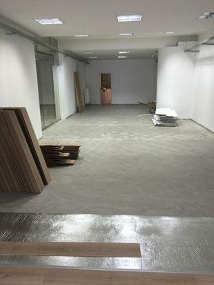 Umbau Vinothek