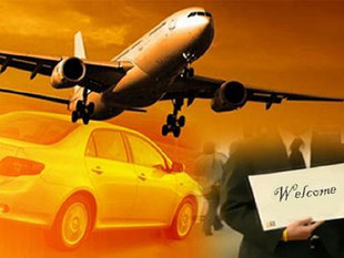 Airport Taxi Hotel Shuttle Service Horn