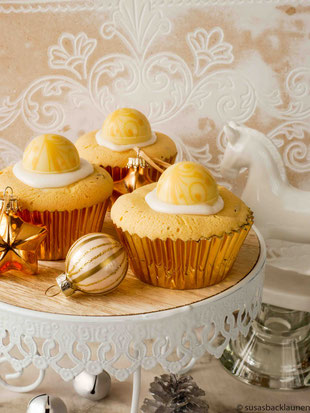 Muffins mit Pralinen