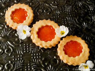 Kekse mit Papaya-Marmelade
