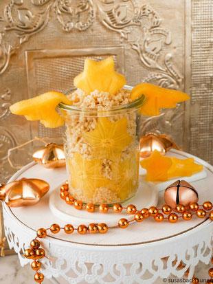 Frühstückscouscous mit Kakifrucht