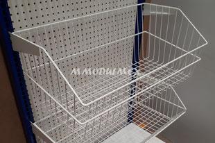 Canastas de alambre para producto a granel