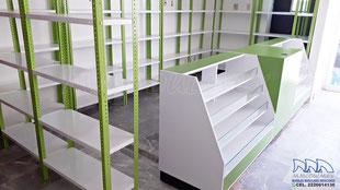 Muebles para farmacia, anaqueles para farmacia, vitrinas para farmacia, mostradores de farmacia