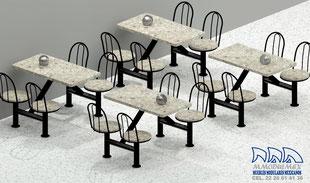 Mesas para comedores, mesas para restaurantes