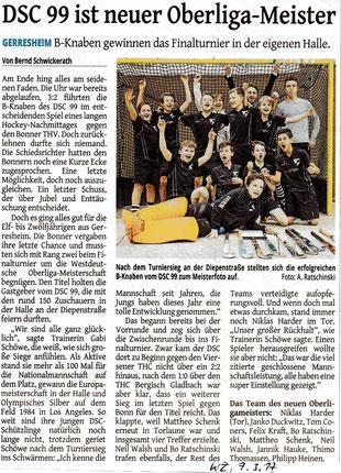 Westdeutsche Zeitung, 7. März 2017