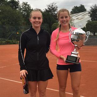 Leonie Daniels und Linnea Braun