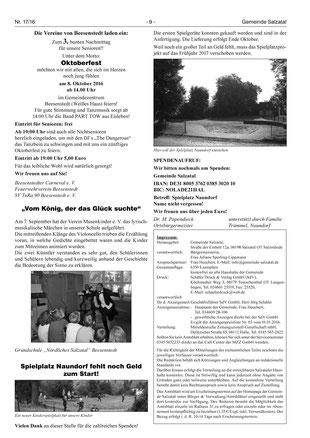 Amtsblatt Nr. 17 vom 24. September 2016