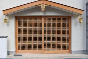 寺社建具の写真