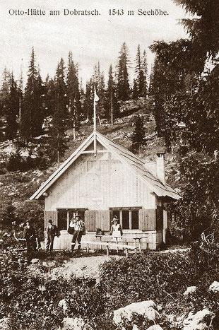 Die alte Ottohütte um ca. 1900