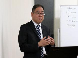 関戸信晴さんの説明