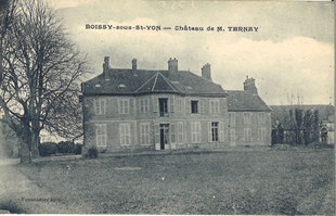 Chateau de Mr Ternay