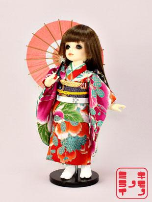 幼SD 着物,YO-SD kimono,SuperDollfie 和服