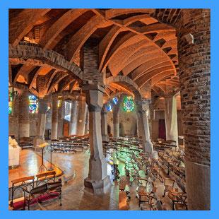 Tour a la Cripta Gaudí en la Colonia Güell