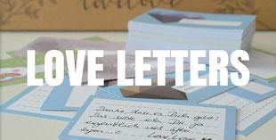 Liebesbriefe verschenken