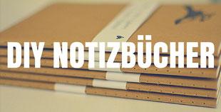 Notizbücher verschönern